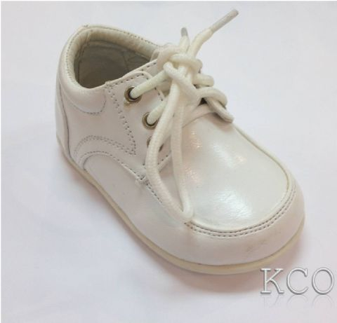 Style 171-04 White~Boys Shoes